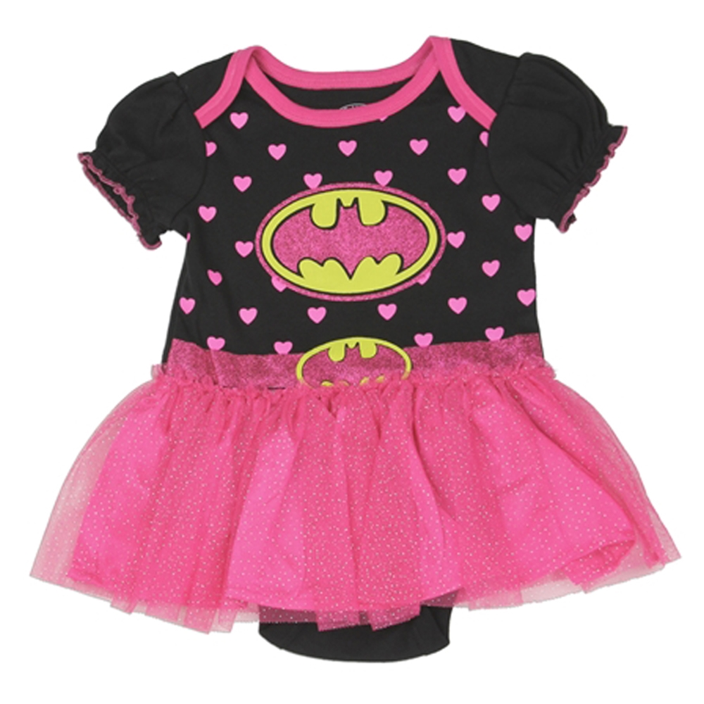 Batgirl Tutu Infant Onesie