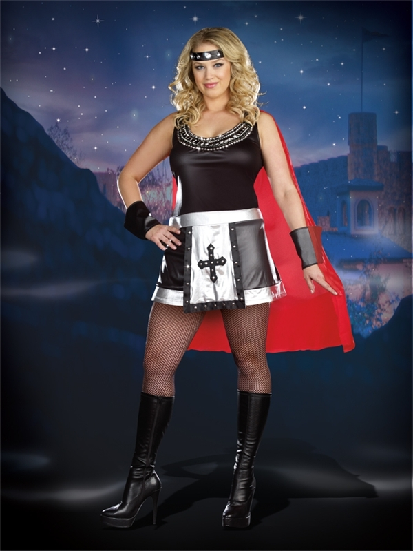Battle Babe Adult Womens Plus Size Costume