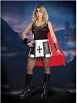 Battle Babe Adult Womens Plus Size Costume