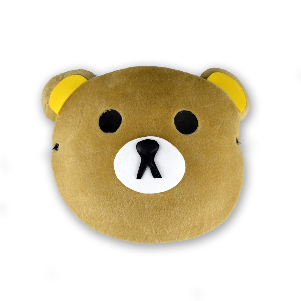 Brown Bear Japanese Mask