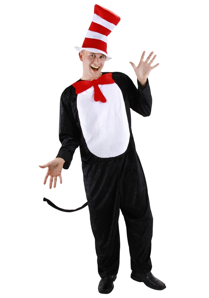 Cat In The Hat Adult Unisex Costume