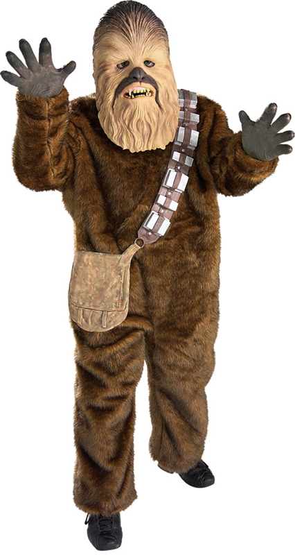 Star Wars Deluxe Chewbacca Child Costume (Star Wars Chewbacca Costume)