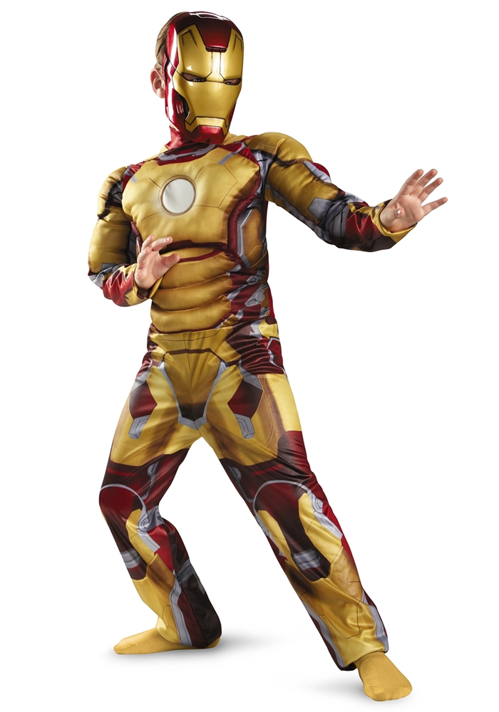 Marvel Iron Man Mark 42 Classic Muscle Child Costume
