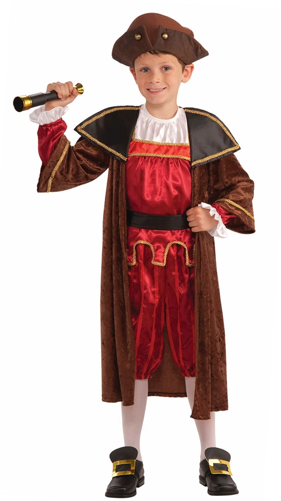 Christopher Columbus Child Costume by Forum Novelties