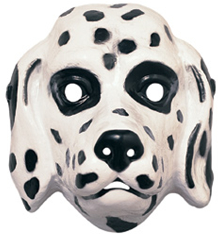 Dalmation Plastic Mask