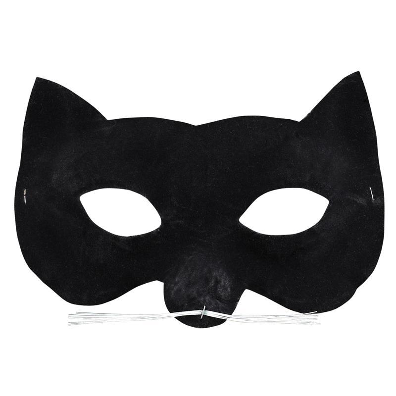 Velvet Cat Eye Mask by Disguise