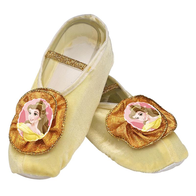 Beauty & The Beast Belle Ballet Slippers
