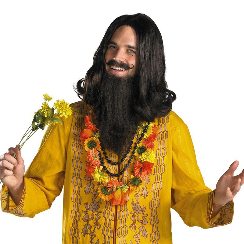 Love Guru Wig & Beard
