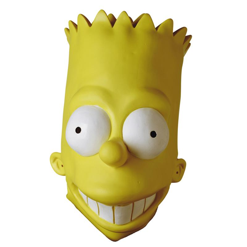 Simpsons, The Bart Simpson - Adult Vinyl Oversized Mask