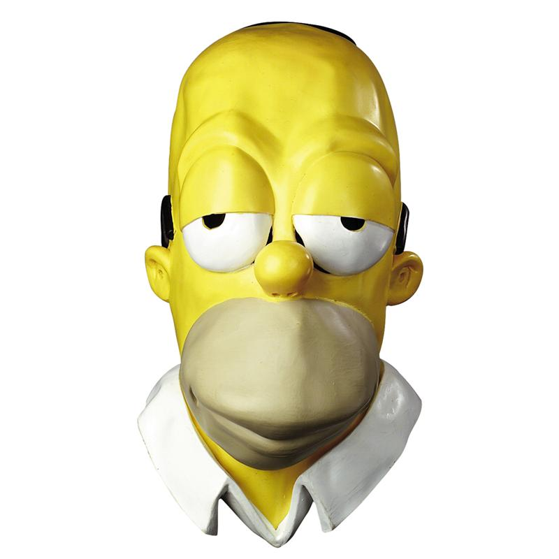 Simpsons, The Homer Adult Vinyl Oversized Mask by Disguise