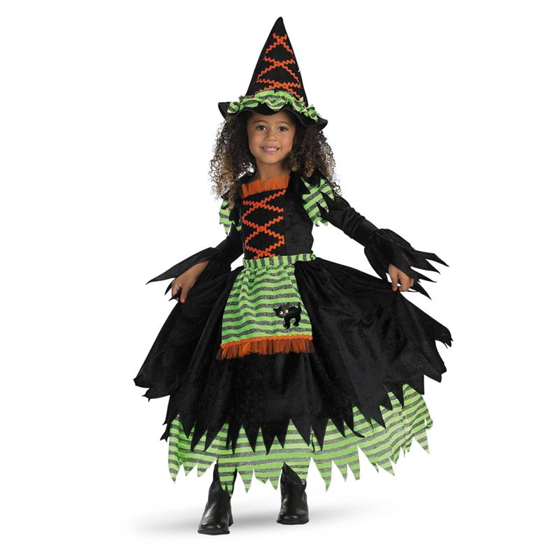 Toddler Deluxe Story Book Witch Costume