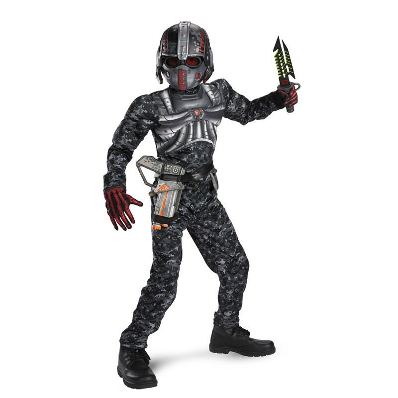Operation Rapid Strike Recon Commando Classic Muscle Child Costume