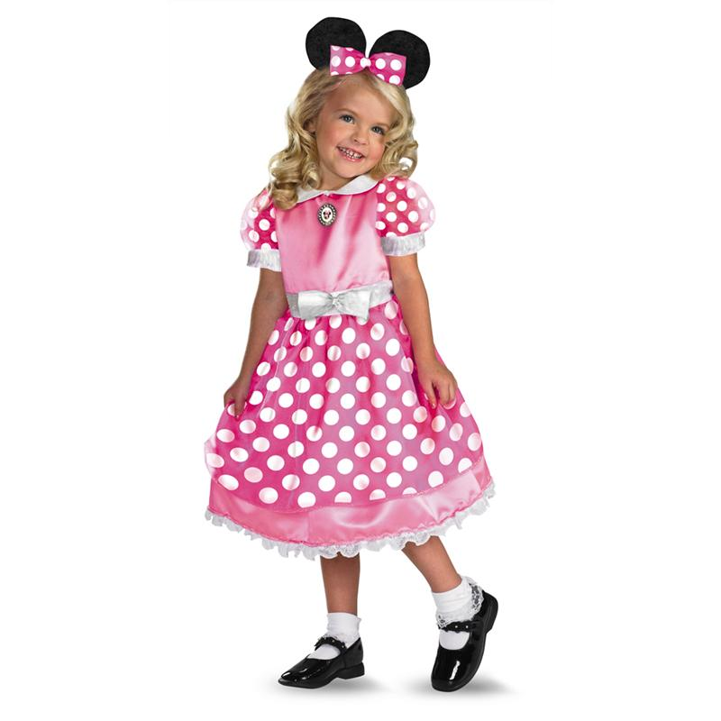 Minnie Mouse Pink Dress Costume