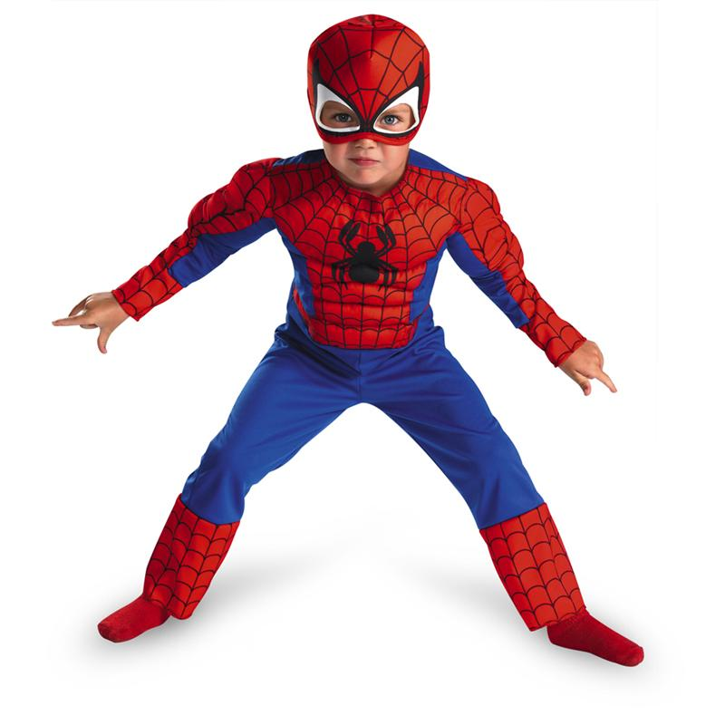 Marvel Spider-Man & Friends Muscle Toddler Costume