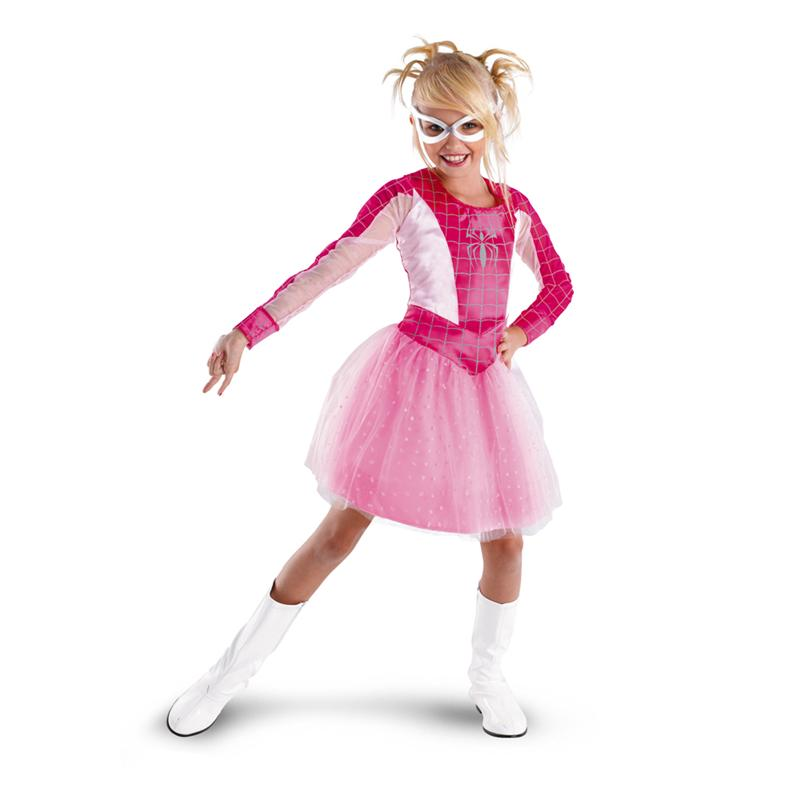 Spide (Spidergirl Pink Classic Child Costumes)