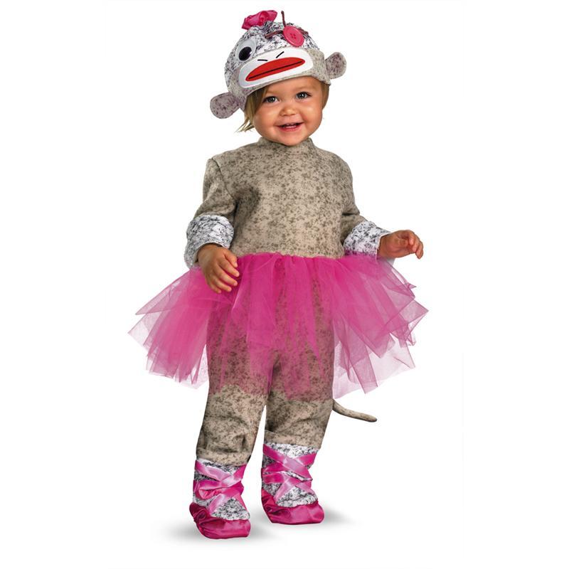 Www Halloween Decorating Ideas: Sock Monkey Ballerina Infant & Toddler Costume