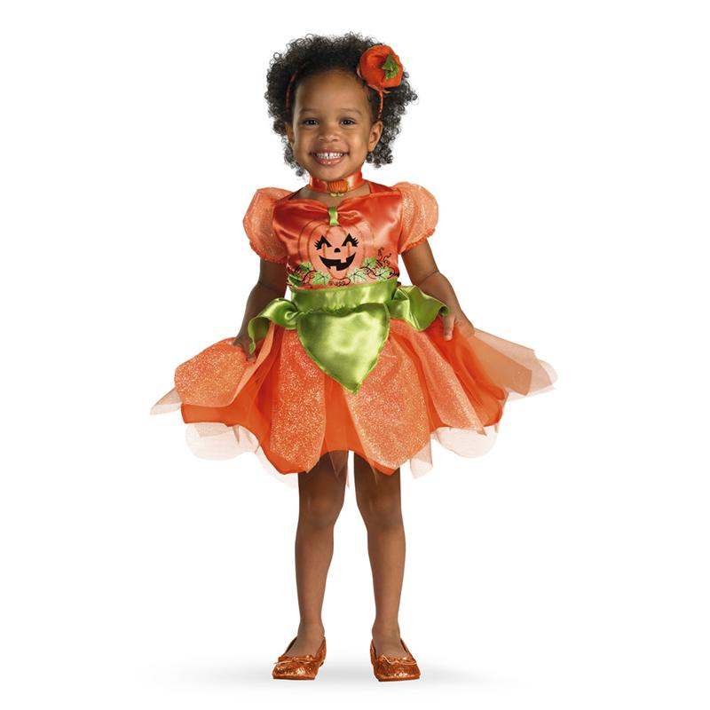 Pumpkin Patch Princess Deluxe Toddler Costume