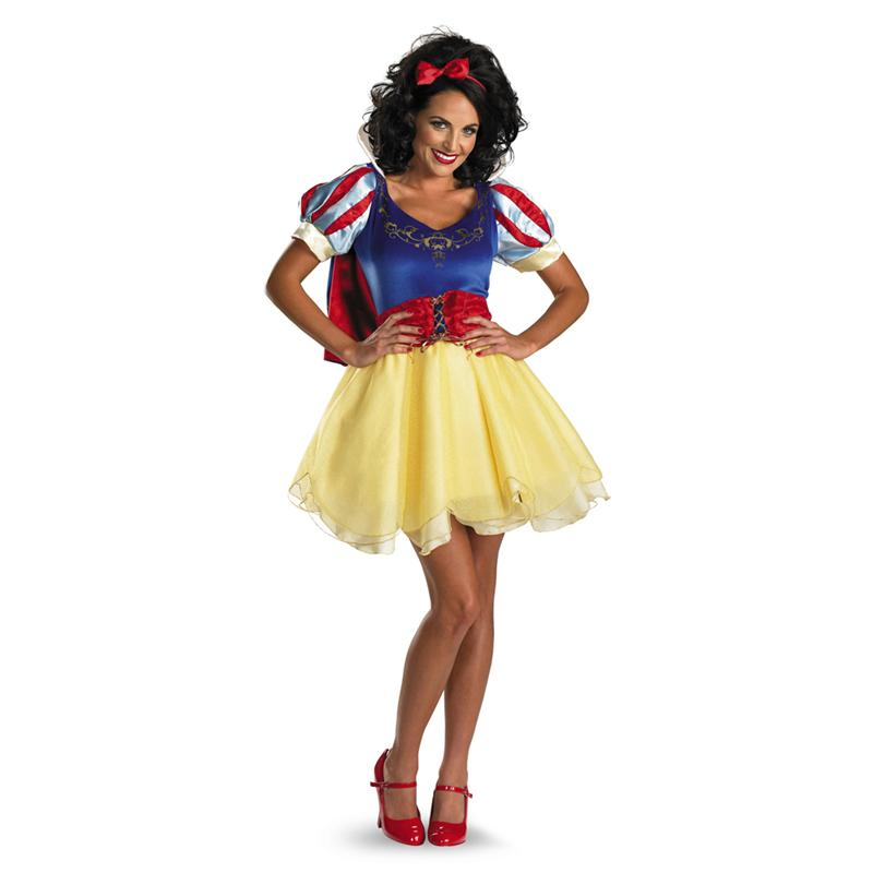 Snow White Sassy Adult Prestige Costume
