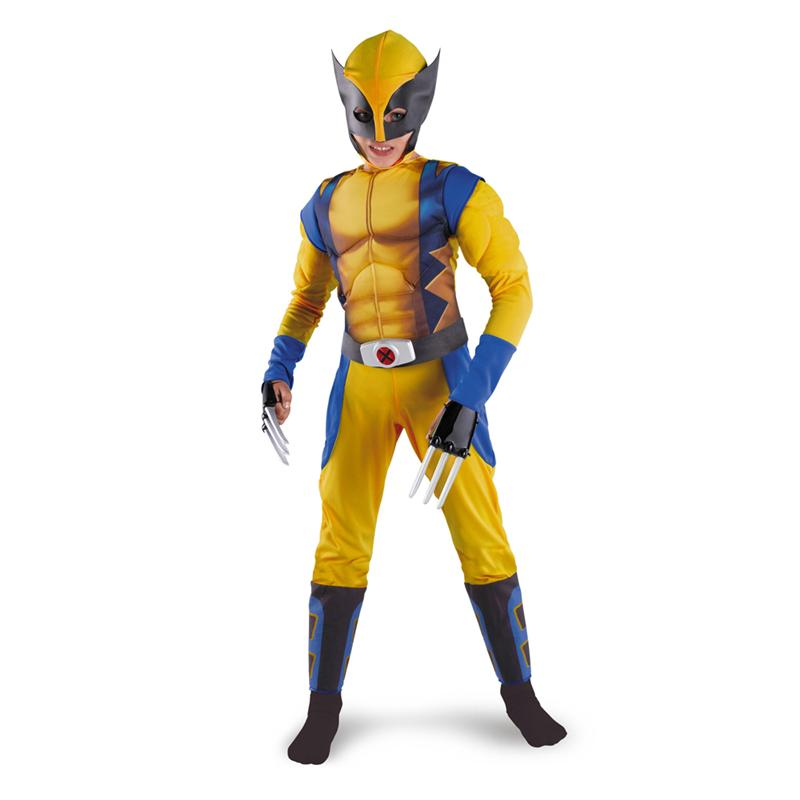 X-Men Origins: Wolverine Classic Muscle Child Boys Costume