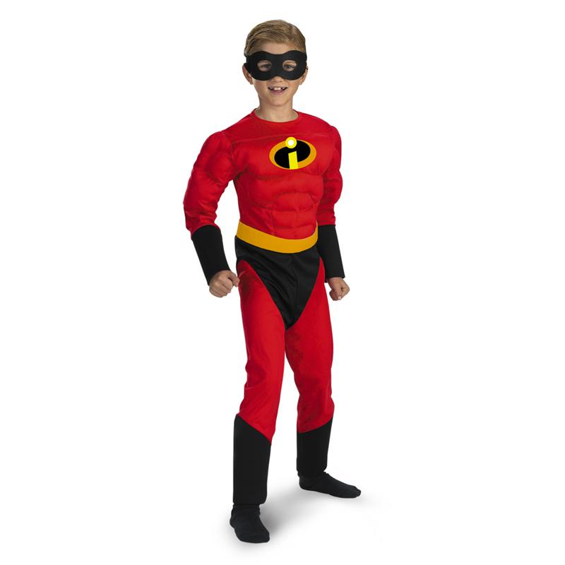 [The Incredibles Dash Classic Muscle Child Costume] (Dash Incredibles Costumes)