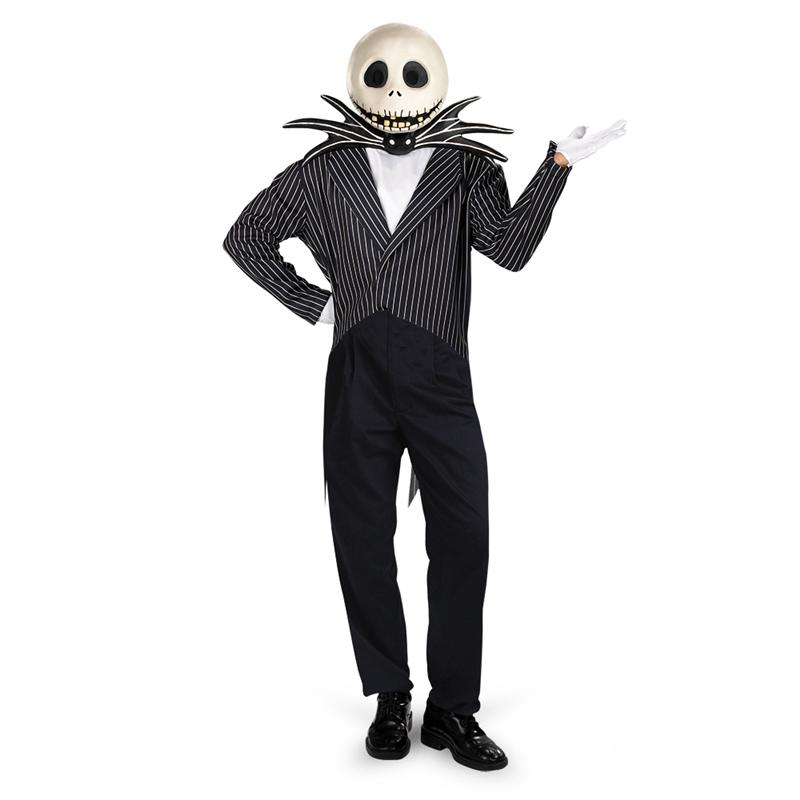 Jack Skellington Deluxe Adult Mens Costume