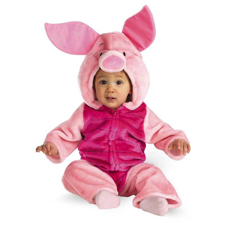 My Friends Tigger & Pooh Piglet Infant Deluxe Plush Costume