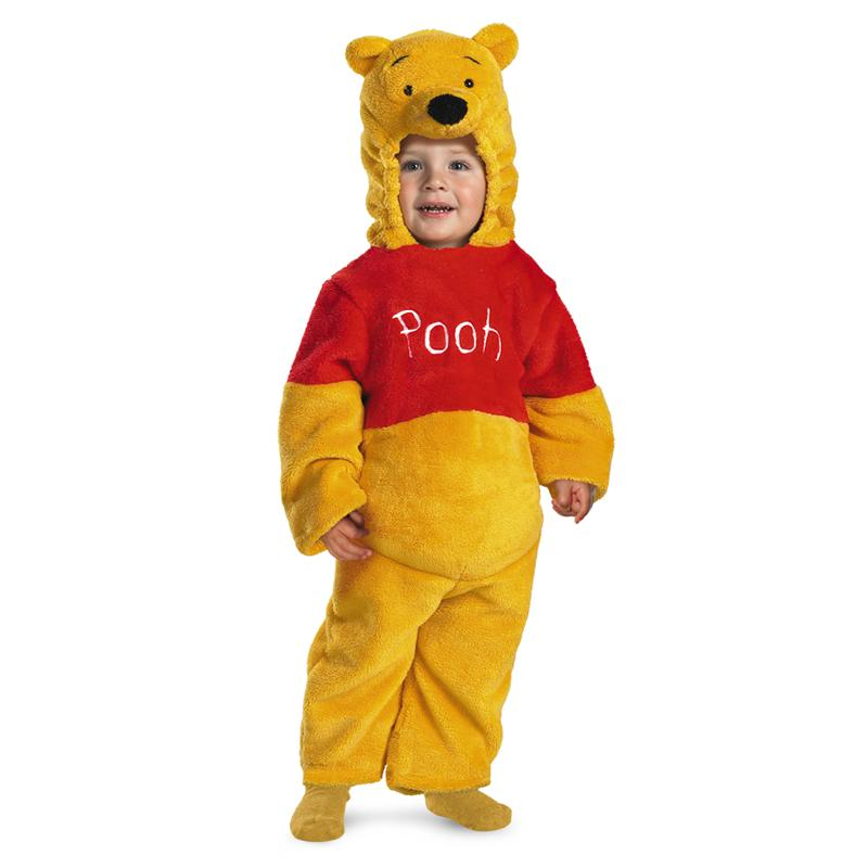 My Friends Tigger & Pooh Winnie The Pooh Deluxe Two-Sided Plush Jumpsuit Infant Costume