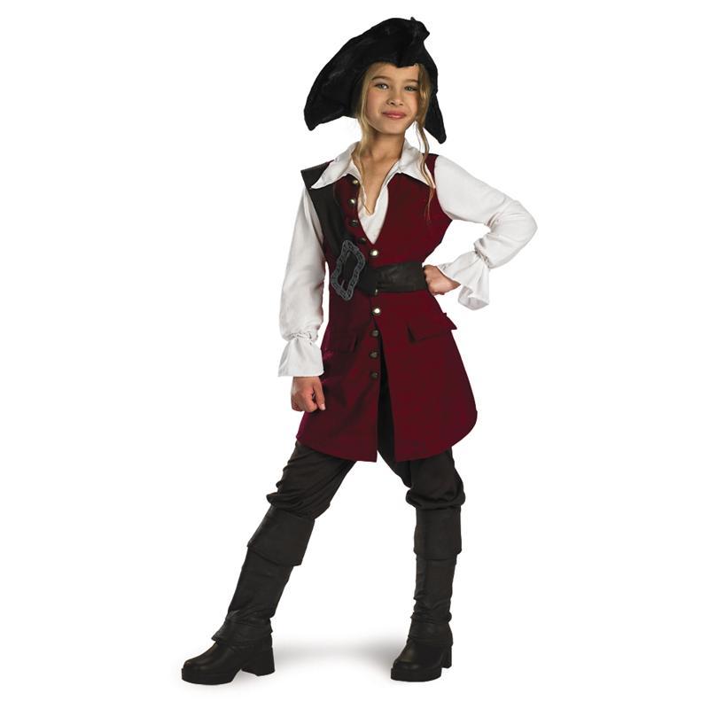 Купить Elizabeth Pirate Child Deluxe Costume