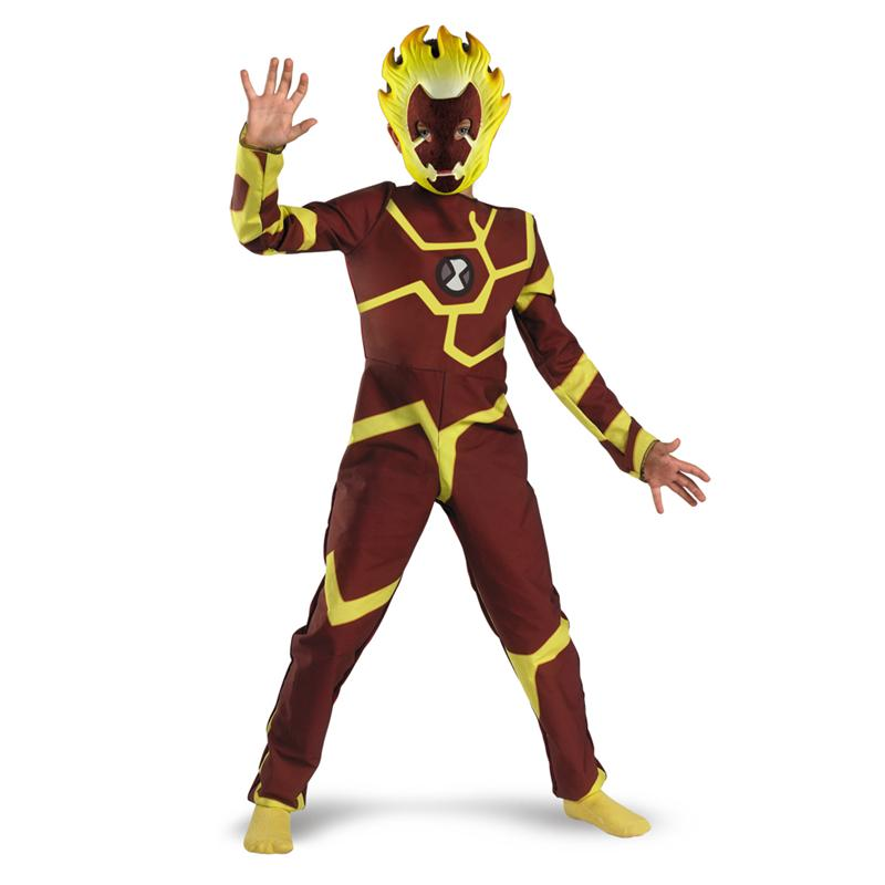 Ben 10 Heatblast Classic Child Costume by Disguise