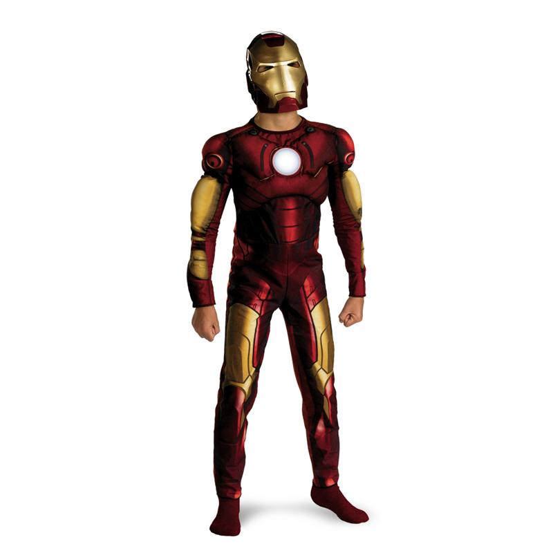 Marvel Iron Man Classic Muscle Child Costume