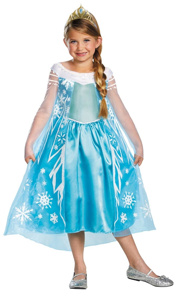 Disney Frozen Movie Elsa Child Costume