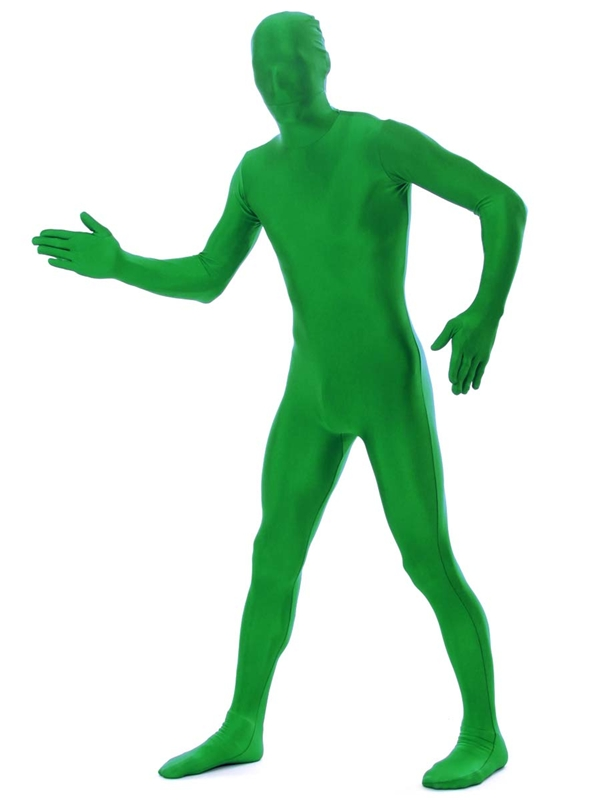 Green 2nd Skin Suit Adult Costume