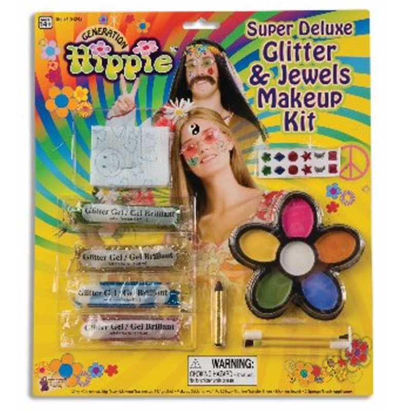 Deluxe Hippie Make Up Kit