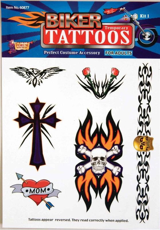 Biker Tattoo Kit