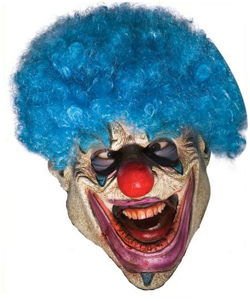 Evil Clown Foam Mask