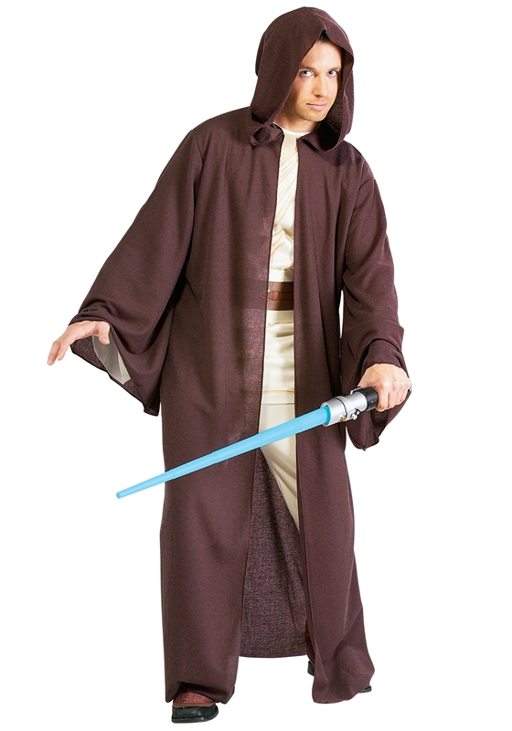 Image of Star Wars Deluxe Jedi Robe Adult Mens Costume