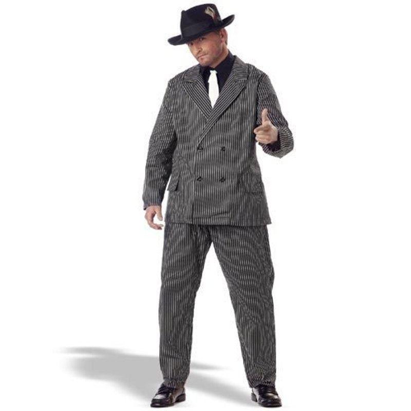 Gangster 20's Plus Size Adult Mens Costume