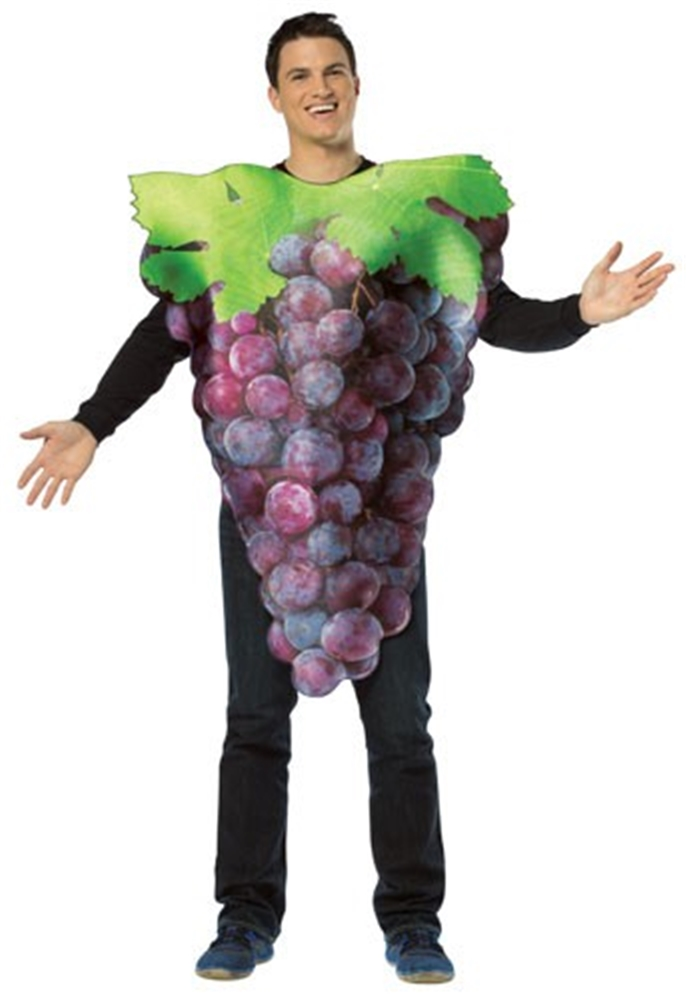 Get Real Grapes Adult Men Costume