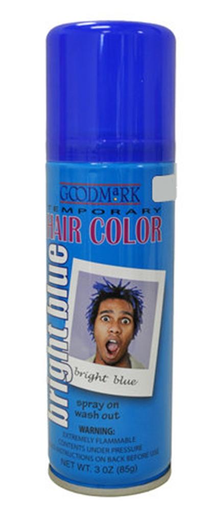 Hairspray Blue