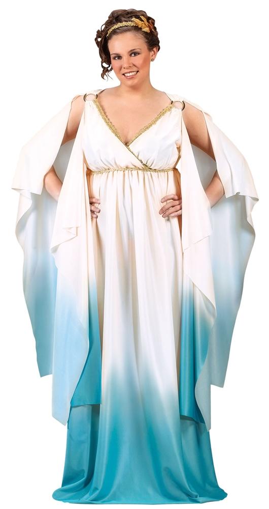 Greek Goddess Plus Size Adult Costume (Greek Goddess Plus Size Costume)