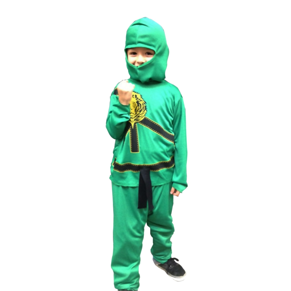 Green Ninja Avengers Childs Pajama Costume