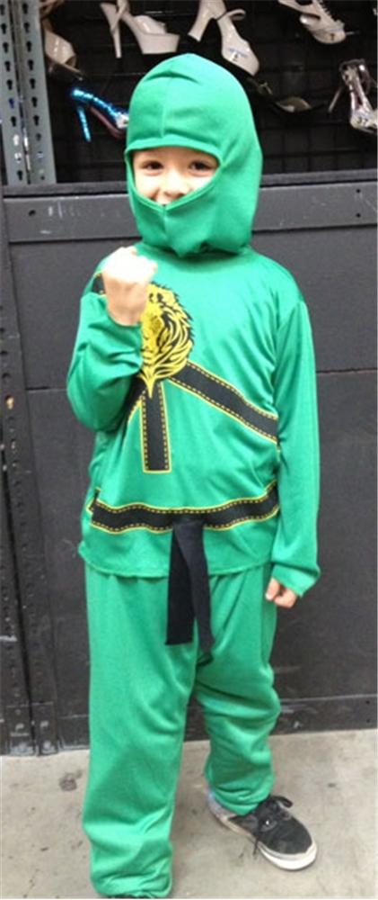 Green Ninja Avengers Childs Pajama Costume