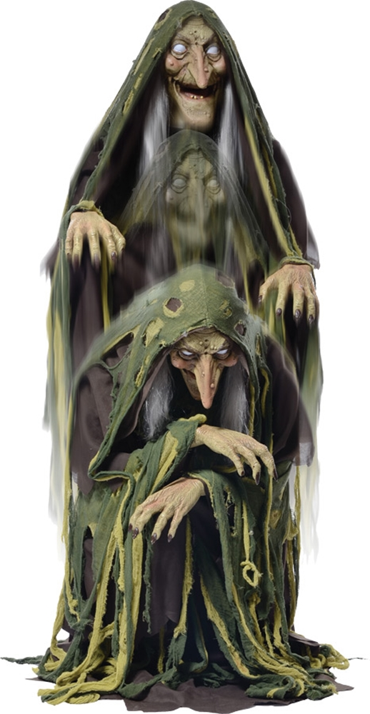 Rising Swamp Hag Animated Prop