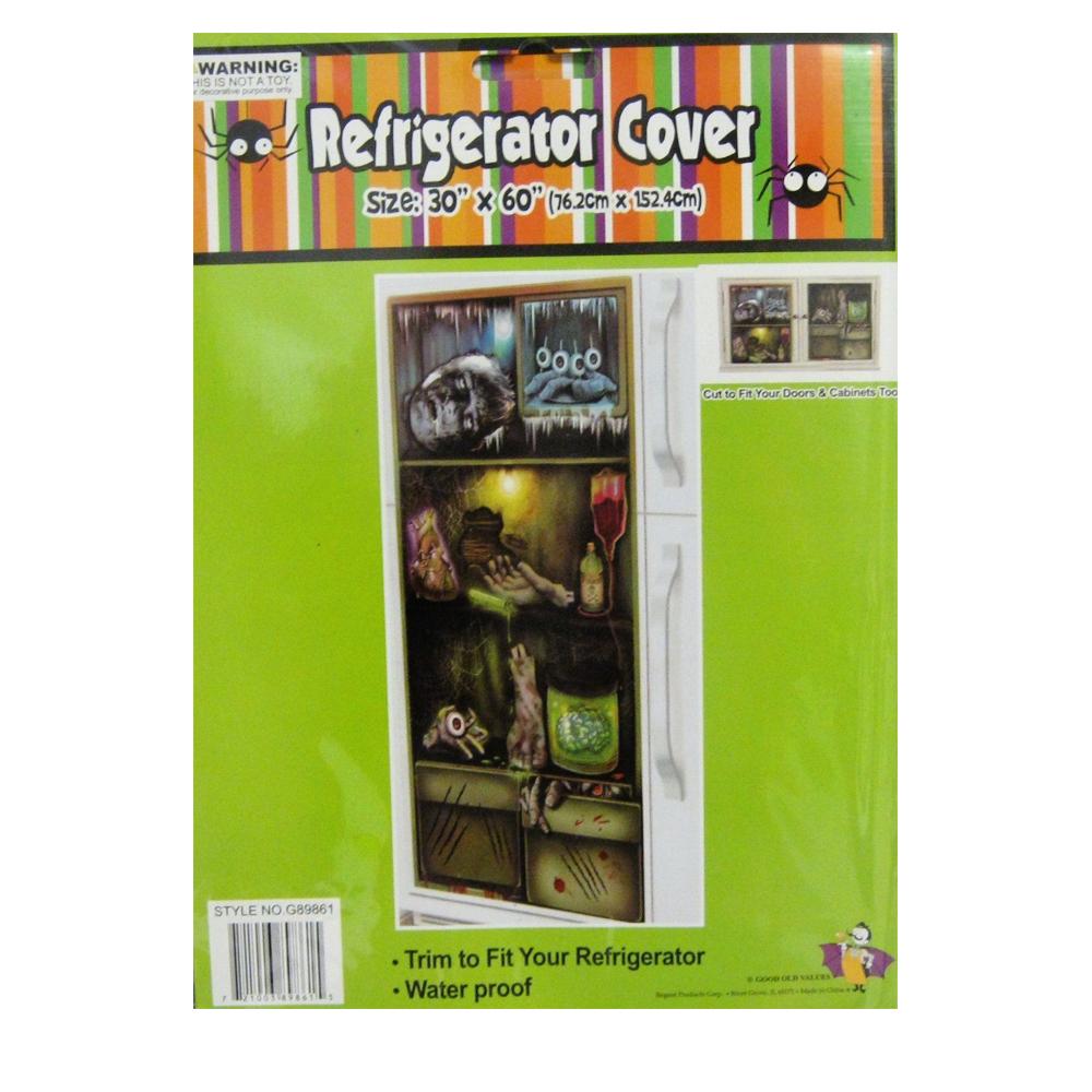 Halloween Door Cover  329005  trendyhalloweencom ~ 185336_Halloween Refrigerator Door Cover