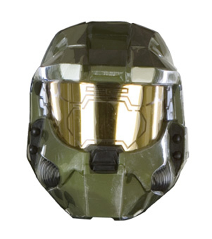 Halo Master Chief 2pc Vacuform Adult Mask