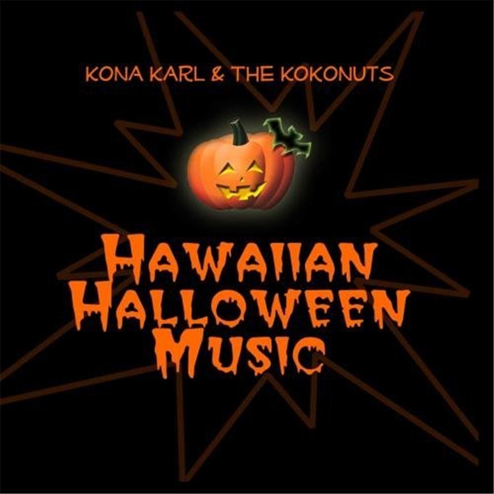 Hawaiian Halloween Music CD