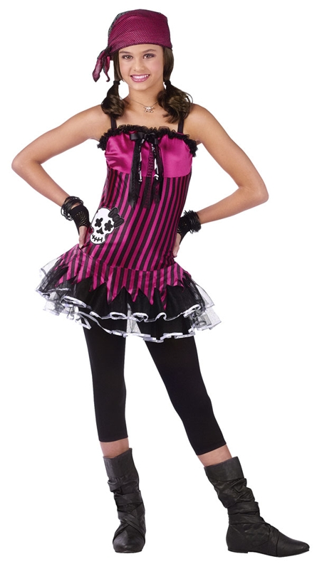 Rockin Skull Pirate Child Costume