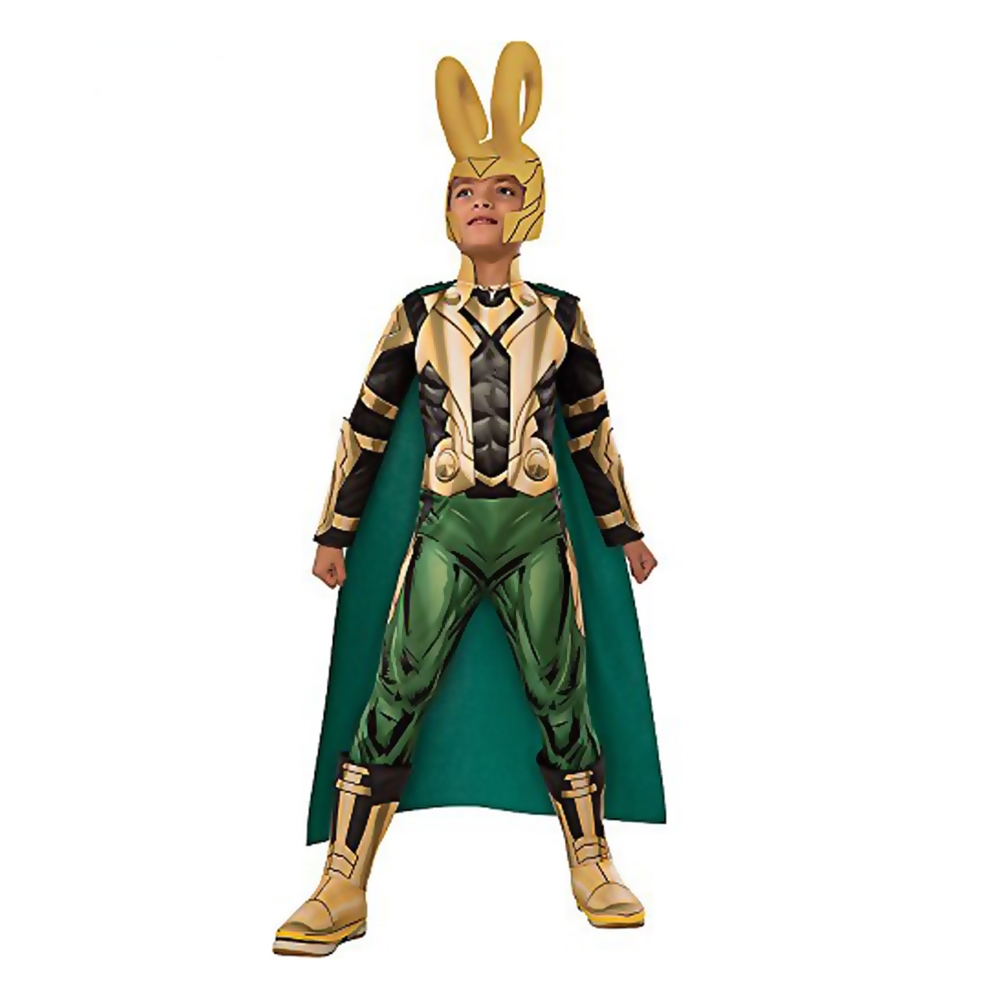 [Marvel Deluxe Loki Child Costume] (Loki Costume)