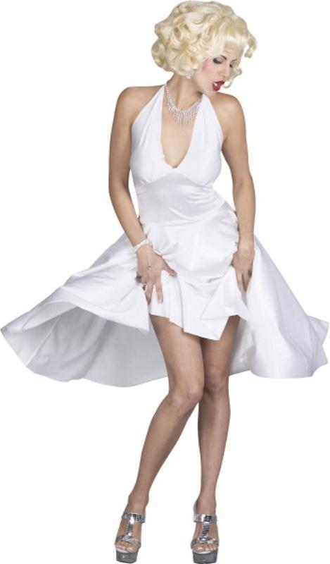 Marilyn Monroe White Dress Adult Costume