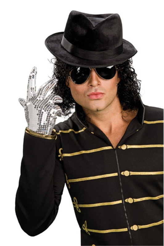 Michael Jackson Sequin Glove by Rubies
